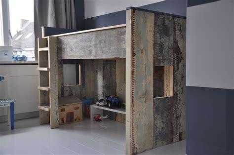 hoogslaper nova hoogslaper van sloophout van maek meubels lifs