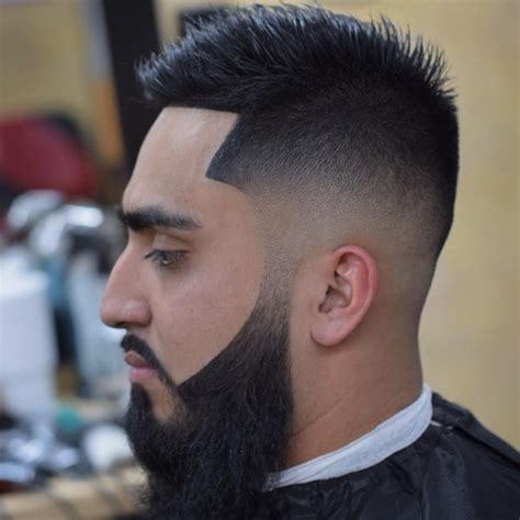 blending a weighted line mens haircuts high top fade with curved part 56882 notefolio