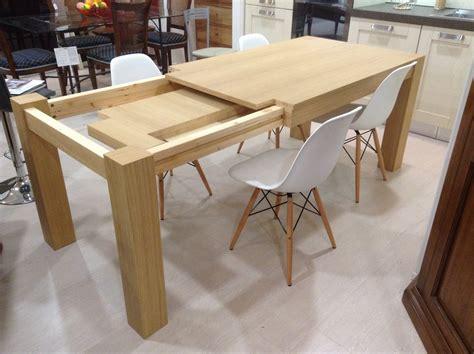 tavolo rovere allungabile tavolo allungabile in rovere spazzolato 140x90cm