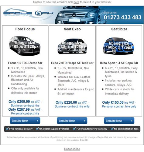 Specialist Email Marketing For Car Dealerships Car Dealer Email Templates