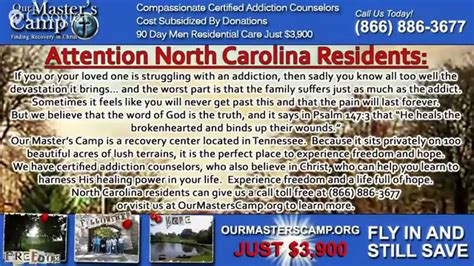 Detox Programs In Nc by Rehab Carolina 866 886 3677 Top