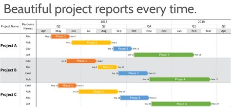 online tutorial project report timeline software for microsoft project onepager pro