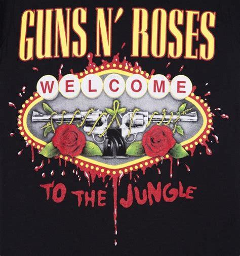 guns n roses jungle mp3 download women s black guns n roses welcome to the jungle t shirt