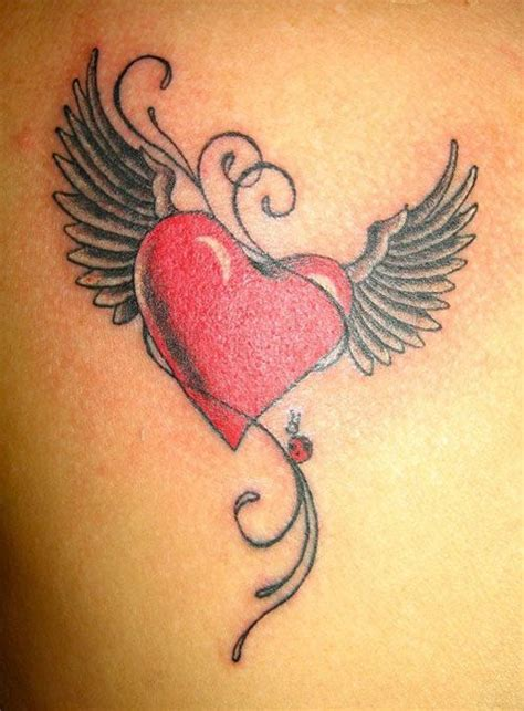tattoo angel heart 214 best angels wings tattoos images on pinterest