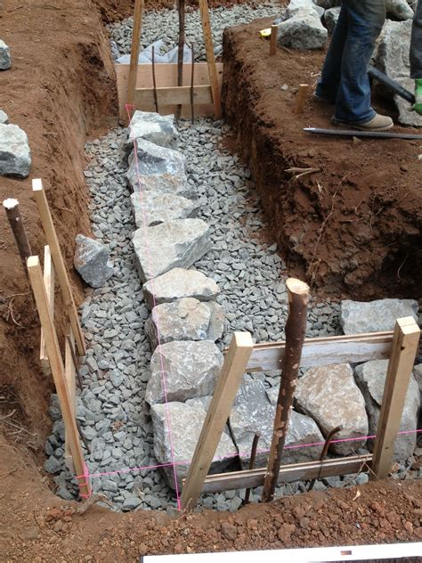 building pit mortar building a foundation this cob house orcas house foundation and house