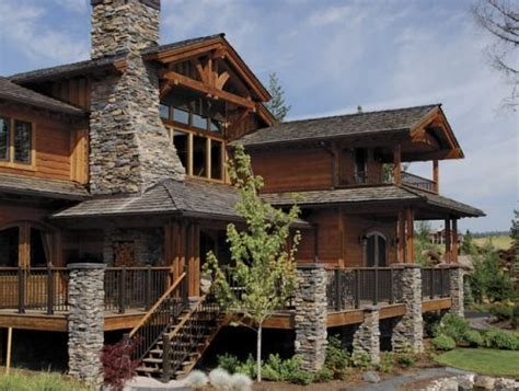 log and stone house plans emily romans stone and log cabin look for my friends pinterest rick and house plans