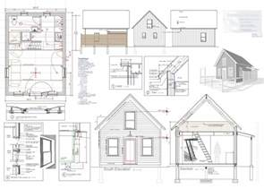 Build A House Floor Plan Tiny House Plan For Sale Robert Swinburne Vermont Architect