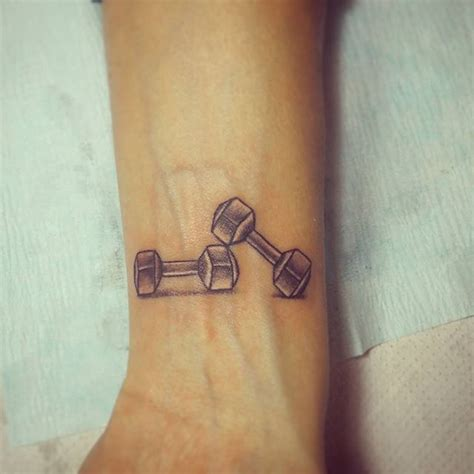 heartbeat dumbbell tattoo 54 best gym and dumbells tattoos ideas images on pinterest