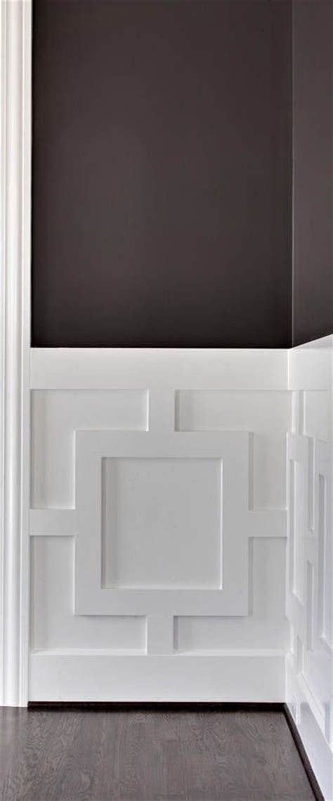 Wainscoting Modern Home 1000 Ideas About Dining Room Walls On Black