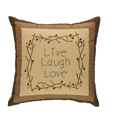 live laugh love l shade shades of brown live laugh love pillow