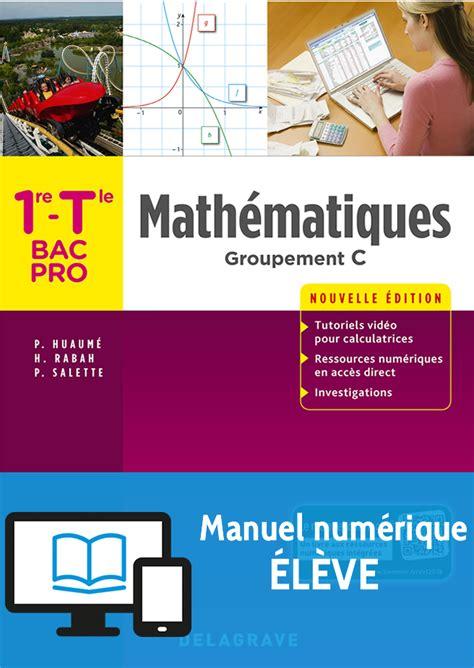 mathematiques  tle bac pro groupement