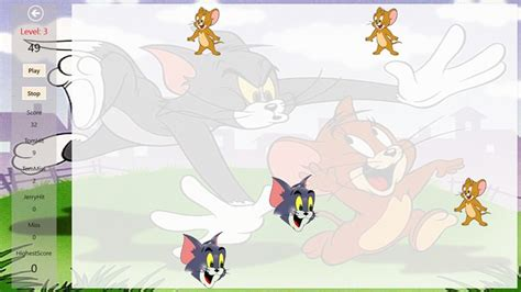 tom and jerry themes for windows 8 1 tom and jerry hit n hide screen shot 2