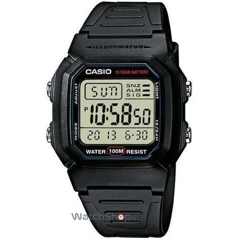 Casio W 800h 1 Original by Sport W 800h 1aves Baterie 10 Ani