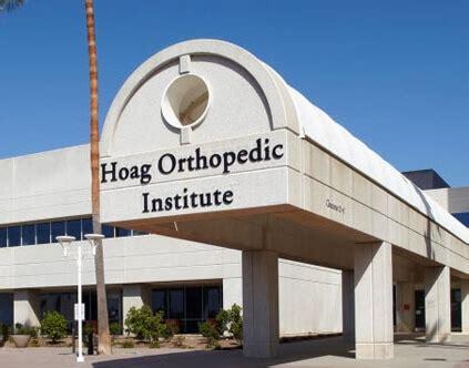 Hoag Hospital Detox Phone Number by Why Choose Hoag Orthopedic Institute