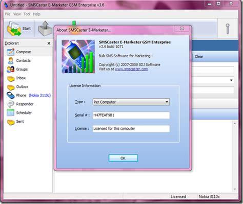 bulk sms software full version free download sms caster v3 6 bulk sms messaging full with key generator