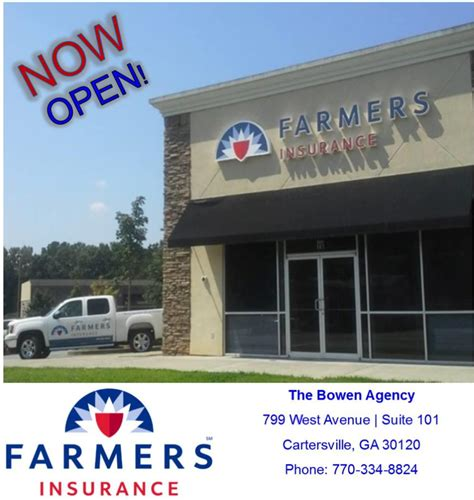 Farmers Insurance   Sheppard Bowen in Cartersville, GA