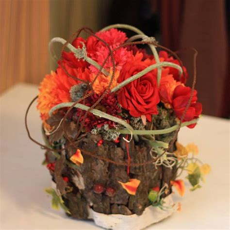 Handmade Centerpiece Ideas - 22 colorful fall flower arrangements and autumn table