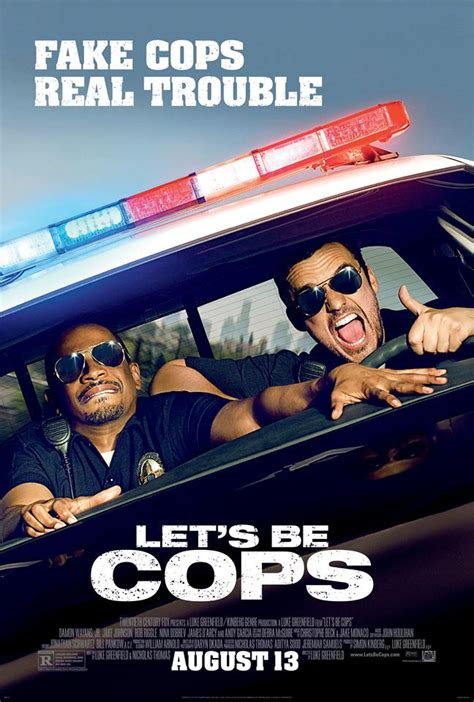 Film Action Police Comedy | let s be cops a comedy and an action movie movie review