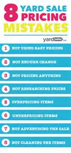 8 yard sale pricing mistakes that most people make but