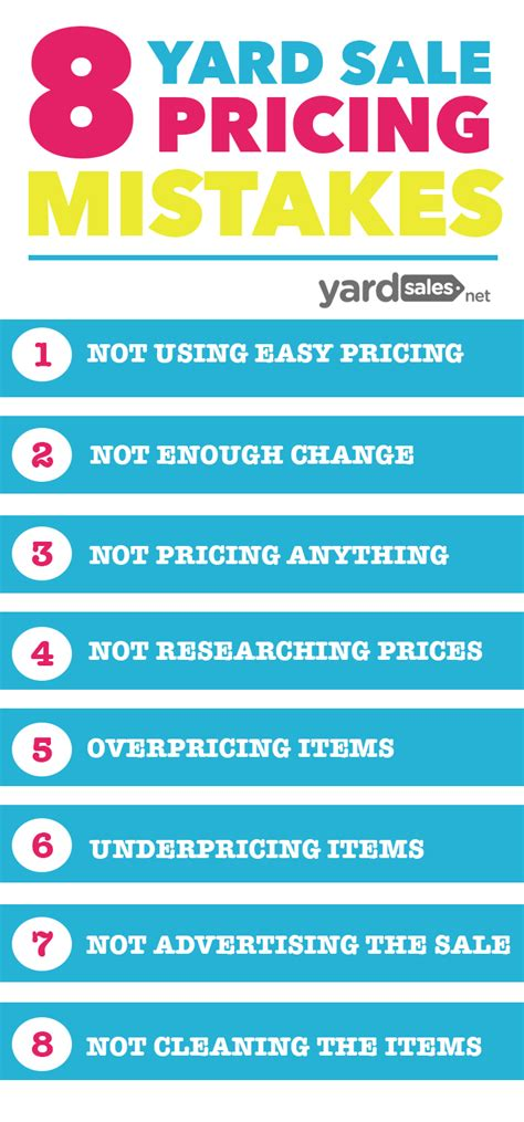 Garage Sale Pricing 8 Yard Sale Pricing Mistakes That Most Make But