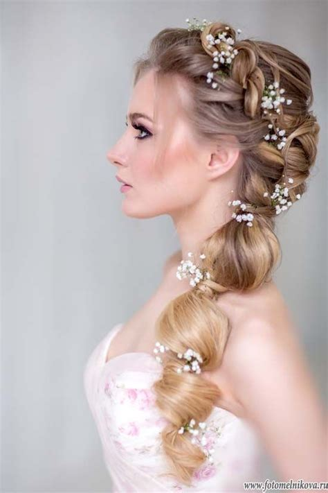 Wedding Hair With A Braid by 25 Best Ideas About Braided Wedding Hair On