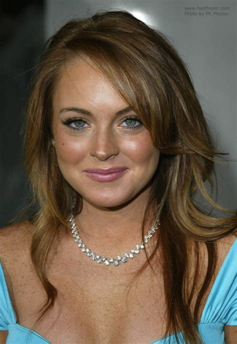 Lindsay Lohan Golden by Linday Lohan Golden Hair With Brown Stripes