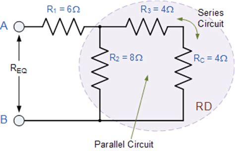 resistor circuit combination resistors in series and parallel resistor combinations