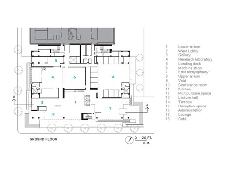 mit floor plans fumihiko maki skillfully combines sectional complexity and