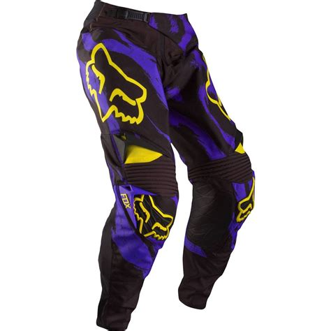purple motocross fox mx 360 race pants marz purple