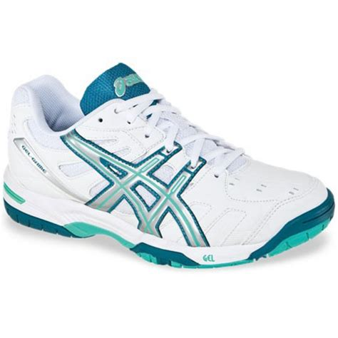 asics gel 4 white teal s tennis shoes review