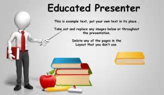 Powerpoint Presentation Templates With Animation by Best Educational Powerpoint Templates