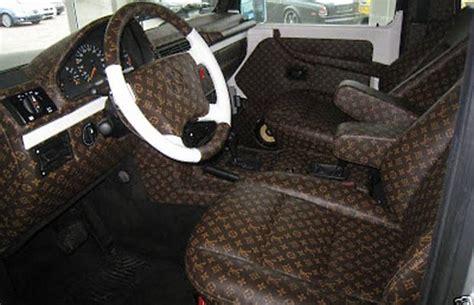 louis vuitton car upholstery louis vuitton mercedes 300 car interior louis vuitton