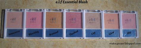E L F Essential Blush With Brush e l f essential blush e l f product swatches