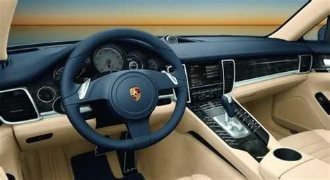 Porsche Panamera New Gallery With 44 High Res Photos 4 Door Porsche Interior