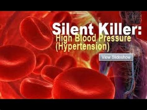 hypertension causes,types,symptoms and treatment youtube