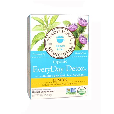 Traditional Medicinals Teas Organic Lemon Everyday Detox by Traditional Medicinals Organic Everyday Detox Lemon Tea 6