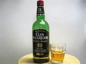 the bottom shelf clan macgregor scotch whisky