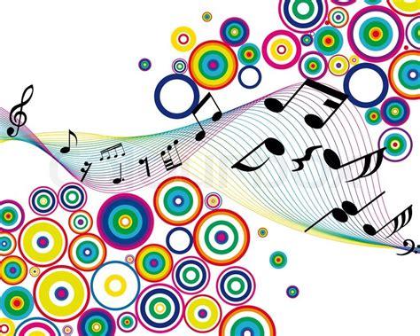 imagenes bonitas musicales musiknoten sachen vektor hintergrund f 252 r den einsatz in