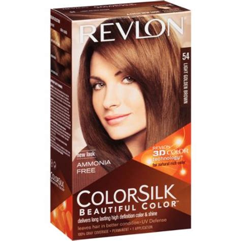 hair color walmart revlon colorsilk beautiful color permanent hair color 54
