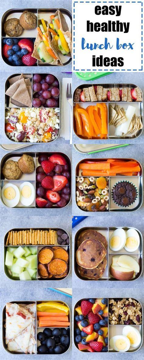 healthy lunch ideas  kids   school lunch