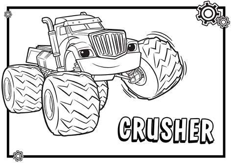 blaze monster truck coloring page blaze and the monster machines free colouring pages