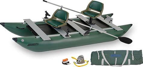 sea eagle inflatable boats sea eagle geen 375fc fold cat fishing boat review