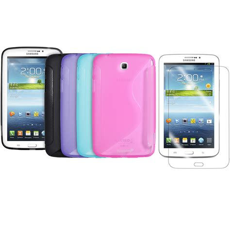 Samsung Galaxy On 7 On7 Rubber 3d Tpu Soft Cover F Diskon Samsung Galaxy Tab 3 7 Inch Tpu Rubber Gel Cover S