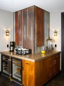 corrugated metal backsplash kitchens that wow