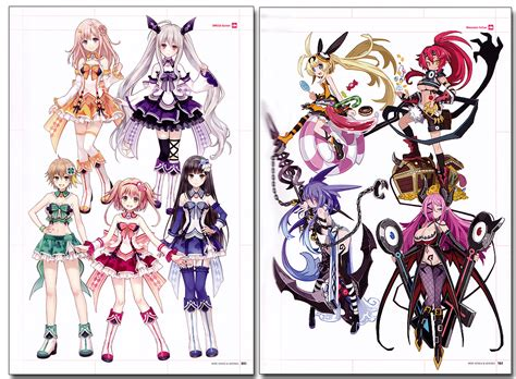 design game characters online heroes heroines japanese video game and animation