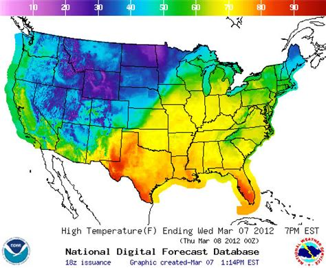 us weather map for today temperature journey handouts
