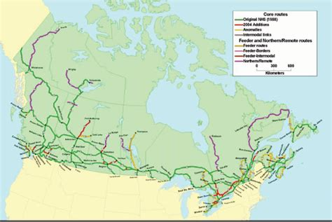 map of us and canada highways canada highway map my