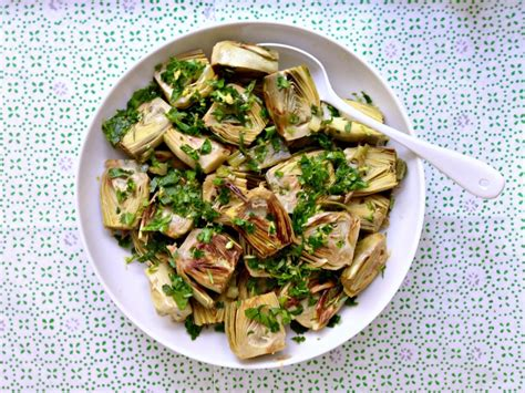 Recipes In General And Deborah Madisons Pie In Particular by The Chef S Take Baby Artichoke And Scallion Saute From