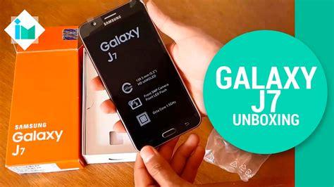 Samsung Galaxy J7 Unboxing Samsung Galaxy J7 Unboxing En Espa 241 Ol