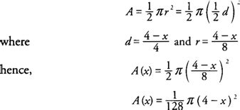 cross section formula volumes of solids with known cross sections